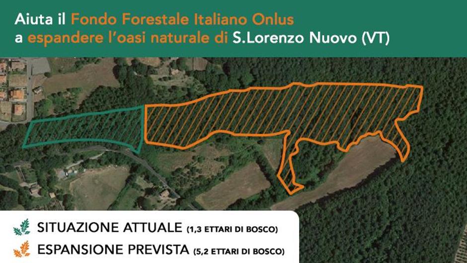 Espandiamo l'oasi di S.Lorenzo Nuovo (VT)